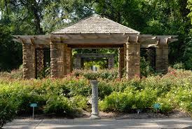 File 0011Fort Worth Botanic Garden Oval Rose Pavillion N Texas