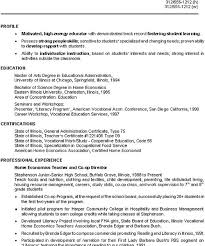 Enchanting Resume Profile Examples High School With Additional Intended For Sample Student Personal