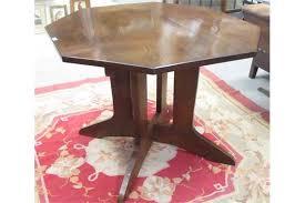 A Heals Oak Octagonal Dining Table 71cm Tall 97cm Diameter