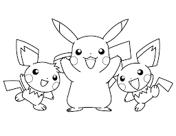 Coloring Color Pages Pokemon For Kids Homdisen