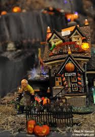 Dept 56 Halloween Village by Photojournalism Bronner U0027s Halloween Section