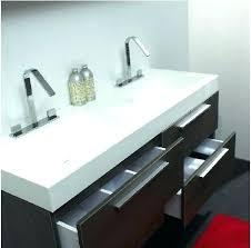 Two Faucet Trough Bathroom Sink by Trough Bathroom Sinks Sinks For Bathroom Trough Bathroom Sink