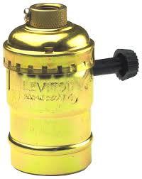 Leviton Keyless Lamp Holder by Bare Sockets Hardware World