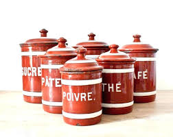 Kitchen Canister Sets Storage Canisters For With Metal Lids Target