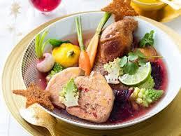 foie gras en pot pot au feu de foie gras facile recette sur cuisine actuelle