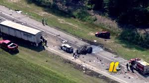 I-Team Reconstructs Deadly I-95 Crash That Left 5 Dead | Abc11.com Tctortrailer Jackknifes On I95 Brings Traffic To Stop Wjar Robert Ben Rhoades The Truck Stop Killer Deadly Day Connecticut Post Bikes Crash From Sb In South Carolina Near Rest I 95 Stops Bi Double You Trucks Are Lined Up Along A Truck As Truckers Take Break Straddles Jersey Wall Closes Lanes Wtvrcom Inrstate Virginia Wikipedia Overloaded Finally Moved Cranston Herald Nys Thruway Rest Stops Guide Restaurants Coffee Gas At Each Ups Big Rig Driver Capes Fiery Crash Near Iteam Reconstructs Deadly That Left 5 Dead Abc11com