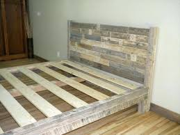 Build King Size Bed Frame A Diy Rustic I On