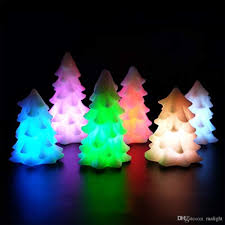 2018 Craft Christmas Tree Candles Led Night Gift Electronic Factory Direct Wholesale Candle With 3d Pattern From Malight