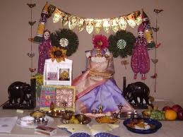 Varalakshmi Vratham Decoration Ideas by Pomfret Archives Spiceindiaonline