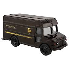 NEW UPS United Parcel Service Pull Back Action Messenger Package ...