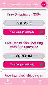 Coupons For Victoria's Secret For Android - APK Download Deals During Bath Body Works Semiannual Sale Victorias Secret Coupons Shopping Promo Codes Free Coupon Codes For Victorias Secret Pink Victoria Secret Coupon Code For Free Shipping On 50 Victora Black Friday Kmart Deals The Sexiest Bras Panties Lingerie Hot Only 40 Regular 100 Pink Fleece Android Apk Download Up To Off Coupon Code 20 Free Panty 10 Off At Krazy Shop Clearance