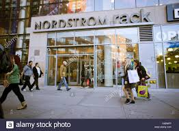 The Nordstrom Rack store in New York in Union Square Stock