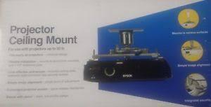 epson universal projector ceiling mount kit elpmbpjf ebay