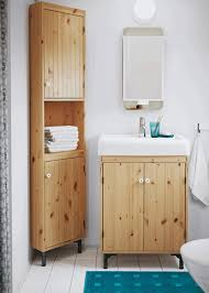 White Bathroom Wall Cabinets With Glass Doors by Ikea Bathroom Cabinet Glass Door Shower Round Light Recessed