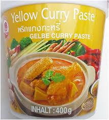 brand pâte de curry jaune 400g fr epicerie