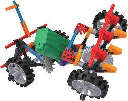 100 Demolition Truck Knex Imagine 4WD Building Set