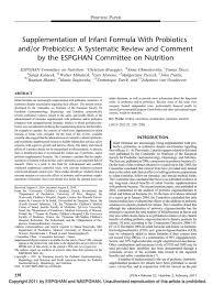 100 Jpgn JPGN CoN Infant Formula Probotics Prebiotics Probiotic