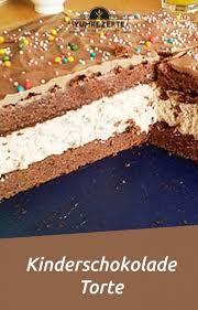 kinderschokolade torte yum rezepte