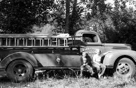 100 First Fire Truck Department And Its 1947 Ford To The Rescue Black Diamond History