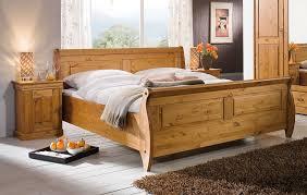 schlafzimmer set 3teilig roland kiefer massiv honigfarben lackiert casade mobila