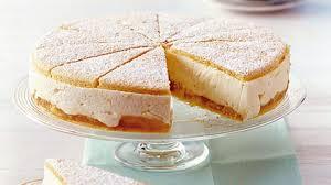 käse sahne torte mit birnen rezept