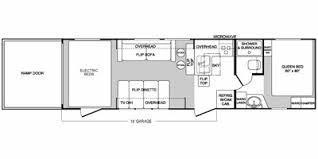 Raptor 5th Wheel Toy Hauler Floor Plans by 2008 Keystone Rv Raptor Series M 3018 Tt Specs And Standard