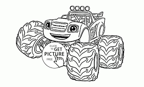 100 Monster Truck Mater Coloring Pages Best Of Funny Blaze The Page