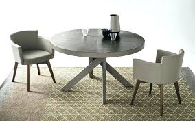 Extendable Round Dining Table Black Medium Size Of Sale