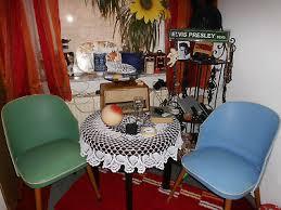 2 original 50er jahre esszimmer stühle cocktail stuhl