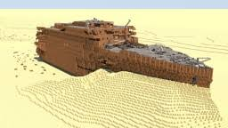 Minecraft Titanic Sinking Map by Rms Titanic Wreck Minecraft Project