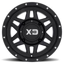 KMC 14x7 XS128 Machete Wheel And EFX 30