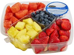 Meijer Artificial Christmas Trees by Meijer Fruit Tray With Dip Cut U0026 Ready To Eat Small Meijer Com