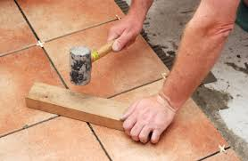 Perfect Laying Tiles Floor Floor With How To Lay Floor Tile