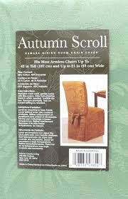 Autumn Scroll Damask Dining Room Chair Cover In Fern Color ... Jf Chair Covers Excellent Quality Chair Covers Delivered 15 Inexpensive Ding Chairs That Dont Look Cheap How To Make Ding Slipcovers Tie On With Ruffpleated Skirt Canora Grey Velvet Plush Room Slipcover Scroll Sure Fit Top 10 Best For Sale In 2019 Review Damask Find Slipcovers Design Builders