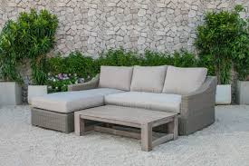 Outdoor Deep Seating Sectional Sofa by Darby Home Co Naperville Outdoor Wicker 3 Piece Deep Seating Group