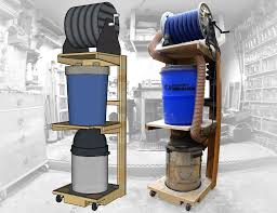 Small Woodshop Solution - Space Saving Shop-Vac Dust Collector ... Dust Collection Fewoodworking Woodshop Workshop 2nd Floor Of Garage Collector Piping Up The Ductwork Youtube 38 Best Images On Pinterest Carpentry 317 Woodworking Shop System Be The Pro My Ask Matt 7 Small For Wood Turning And Drilling 2 526 Ideas Plans