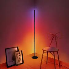 led rgb boden le für wohnzimmer bunte dekorative standing
