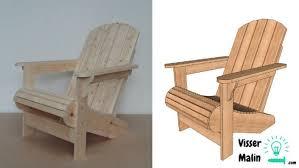 une chaise comment fabriquer une chaise de jardin guide astuces