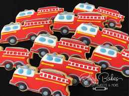 100 Fire Truck Birthday Party Invitations Fighter Target Hat Pinata