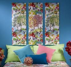 Fabric Wall Art DIY Projects Craft Ideas How Tos For Home Decor
