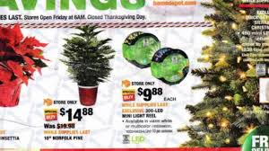 Home Depot holiday decorations available for Black Friday 2017