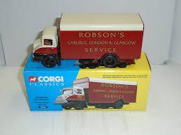100 Box Truck Trader Amazoncom Corgi Classics Robsons Of Carlisle Thames Van