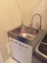 Stainless Steel Utility Sink by Presenza All In One 24 2 In X 21 3 In X 33 8 In Stainless Steel