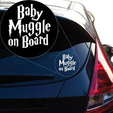 100 Truck Decals For Girls Amazoncom Yoonek Graphics Harry Potter Baby Muggle On Board Vinyl