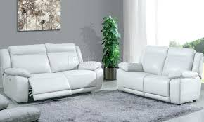 canape relax cuir blanc canape canape relax cuir 2 places canapac aclectrique 3 johnjohn