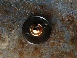 schöne schlichte haustür klingel zu antik klingelknopf