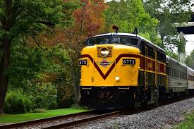 Chagrin Falls Pumpkin Roll by Special Events Cuyahoga Valley Scenic Railroad