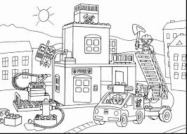 Fire Truck Coloring Pages | Printable Coloring Pages