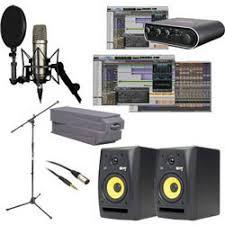 MBox Mini Studio With PT10 And Monitors
