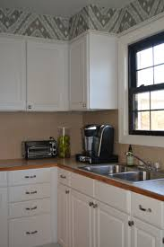 Kitchen Soffit Removal Ideas by Update Your Kitchen With A Wallpaper Soffit And Its Removable